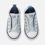Детские кеды Converse Chuck Taylor All Star Simple Slip Low Top Fiberglass/Blue Coast/White фото- 4