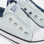 Детские кеды Converse Chuck Taylor All Star Simple Slip Low Top Fiberglass/Blue Coast/White фото- 5