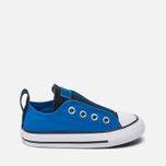 Детские кеды Converse Chuck Taylor All Star Simple Slip Low Top Soar/Black/White фото- 0