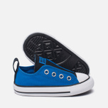 Детские кеды Converse Chuck Taylor All Star Simple Slip Low Top Soar/Black/White фото- 1