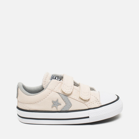 Converse Star Player EV 2V Kid's Plimsoles Ecru