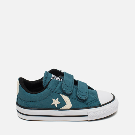 Converse All Star Player EV 2V Kid's Plimsoles Seaside Blue