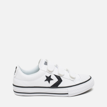 Converse Star Player Kid's Plimsoles White