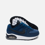 Nike Air Max Command Flex Leather Children's Sneakers Navy/White photo- 2