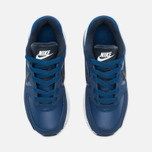 Nike Air Max Command Flex Leather Children's Sneakers Navy/White photo- 4