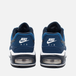 Nike Air Max Command Flex Leather Children's Sneakers Navy/White photo- 3