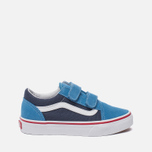Детские кеды Vans Old Skool V 2 Tone Cendre Blue/Parisian Night фото- 0