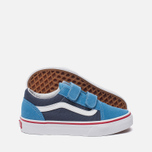 Детские кеды Vans Old Skool V 2 Tone Cendre Blue/Parisian Night фото- 2