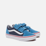 Детские кеды Vans Old Skool V 2 Tone Cendre Blue/Parisian Night фото- 1