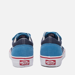 Детские кеды Vans Old Skool V 2 Tone Cendre Blue/Parisian Night фото- 3