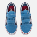 Детские кеды Vans Old Skool V 2 Tone Cendre Blue/Parisian Night фото- 4
