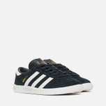 Детские кроссовки adidas Originals Hamburg Collegiate Navy/White/Gold фото- 1