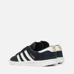 Детские кроссовки adidas Originals Hamburg Collegiate Navy/White/Gold фото- 2