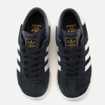 Детские кроссовки adidas Originals Hamburg Collegiate Navy/White/Gold фото- 4