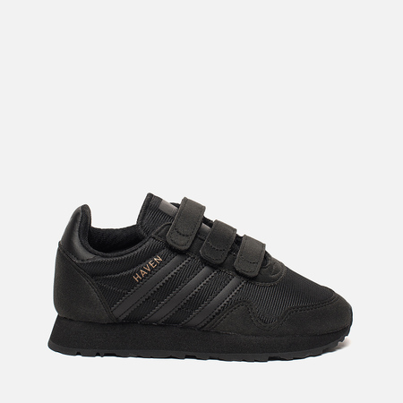Детские кроссовки adidas Originals Haven Core Black/Core Black/Core Black