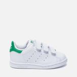 Кроссовки для малышей adidas Originals Stan Smith Running White/Fairway фото- 0
