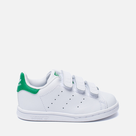 Кроссовки для малышей adidas Originals Stan Smith Running White/Fairway