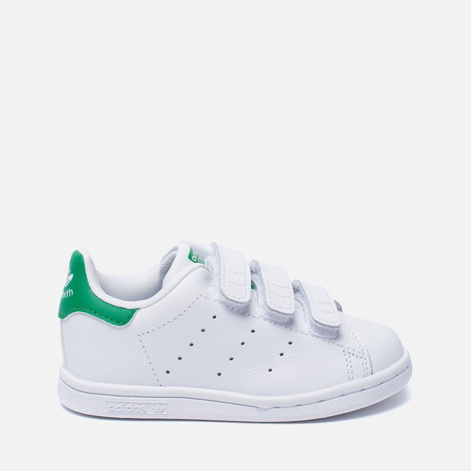 Кроссовки для малышей adidas Originals Stan Smith Running White/Fairway