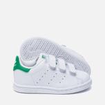 Кроссовки для малышей adidas Originals Stan Smith Running White/Fairway фото- 1