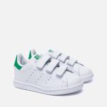 e4310d47 Кроссовки для малышей adidas Originals Stan Smith Running White/Fairway  фото- 2