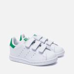 Кроссовки для малышей adidas Originals Stan Smith Running White/Fairway фото- 2