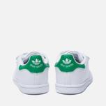 608cc547 Кроссовки для малышей adidas Originals Stan Smith Running White/Fairway  фото- 3