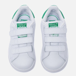 09ba0e24 Кроссовки для малышей adidas Originals Stan Smith Running White/Fairway  фото- 4
