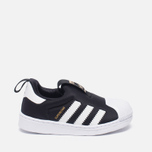 Кроссовки для малышей adidas Originals Superstar 360 Core Black/White фото- 0