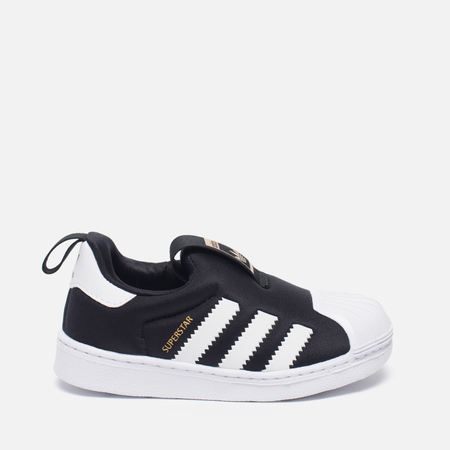 Кроссовки для малышей adidas Originals Superstar 360 Core Black/White