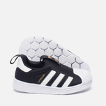 Кроссовки для малышей adidas Originals Superstar 360 Core Black/White фото- 2