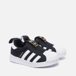 Кроссовки для малышей adidas Originals Superstar 360 Core Black/White фото- 1