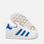 Детские кроссовки adidas Originals Superstar 360 White/Blue/White фото- 1