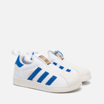 Детские кроссовки adidas Originals Superstar 360 White/Blue/White фото- 2