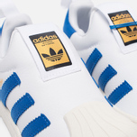 Детские кроссовки adidas Originals Superstar 360 White/Blue/White фото- 5