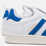 Детские кроссовки adidas Originals Superstar 360 White/Blue/White фото- 6