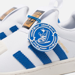 Детские кроссовки adidas Originals Superstar 360 White/Blue/White фото- 7
