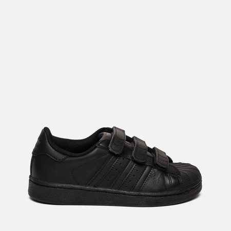 Детские кроссовки adidas Originals Superstar Foundation CF C Core Black/Core Black/Core Black