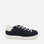Детские кроссовки adidas Originals x Mini Rodini Stan Smith Core Black/Off White фото- 0