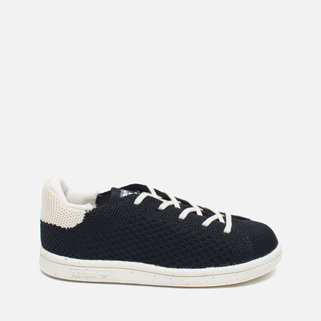 Детские кроссовки adidas Originals x Mini Rodini Stan Smith Core Black/Off White