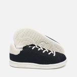 Детские кроссовки adidas Originals x Mini Rodini Stan Smith Core Black/Off White фото- 2