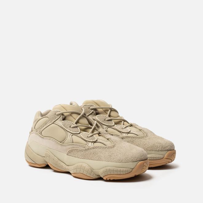 Детские кроссовки adidas Originals YEEZY 500 Kids Stone/Stone/Stone