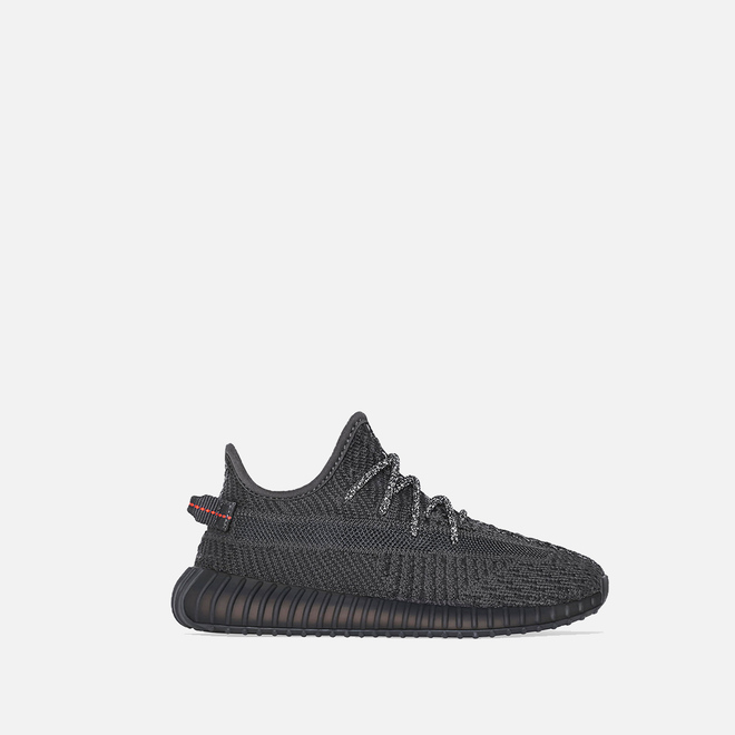 Детские кроссовки adidas Originals YEEZY Boost 350 V2 Kids Black/Black/Black
