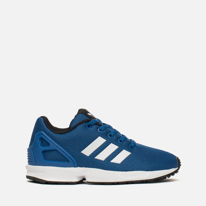 Детские кроссовки adidas Originals ZX Flux Blue/White/Core Black