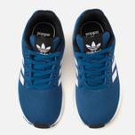 Детские кроссовки adidas Originals ZX Flux Blue/White/Core Black фото- 4