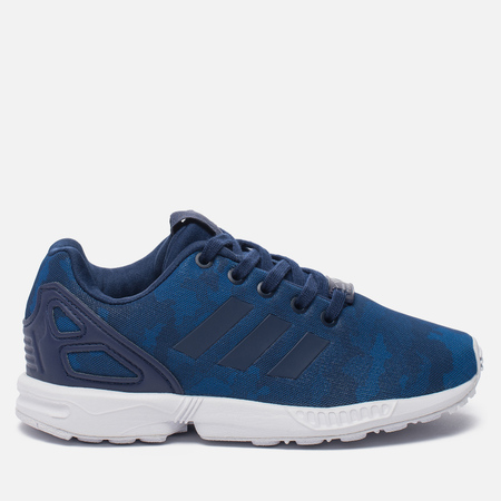 Детские кроссовки adidas Originals ZX Flux C Cargo Navy/White