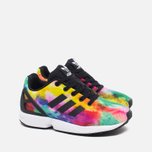 Детские кроссовки adidas Originals ZX Flux Core Black/Running White фото- 1