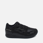 Детские кроссовки ASICS Gel-Lyte III PS Black/Black фото- 0