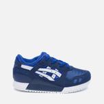 Детские кроссовки ASICS Gel-Lyte III PS Blue/White фото- 0