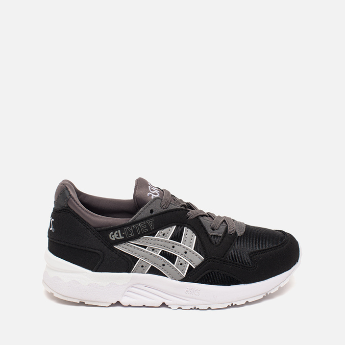 Детские кроссовки ASICS Gel-Lyte V PS Black/Medium Grey