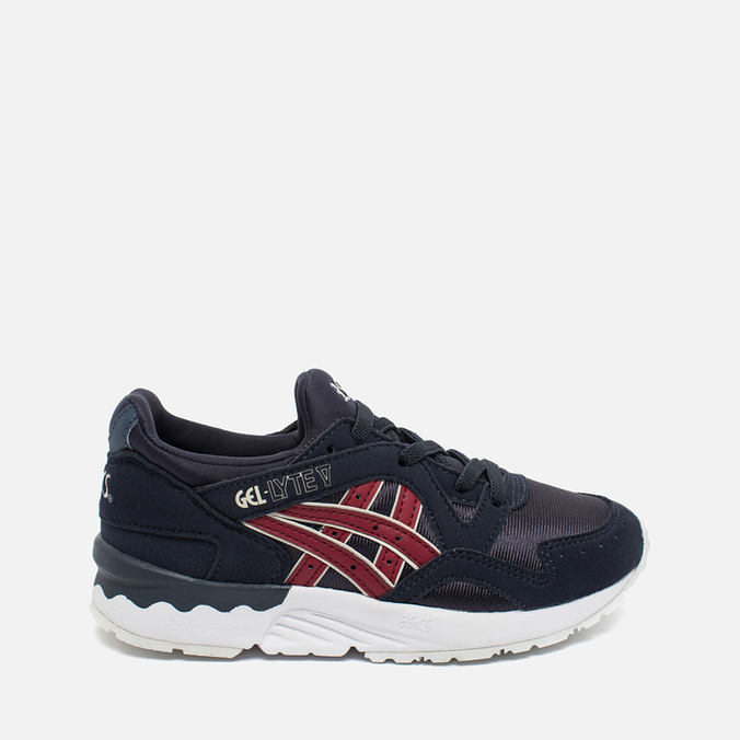Детские кроссовки ASICS Gel-Lyte V PS India Ink/Burgundy